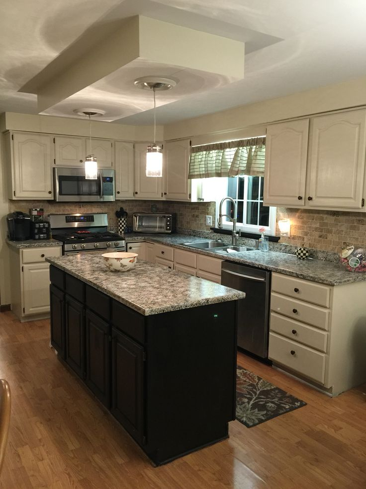 Kona Color Kitchen Cabinets