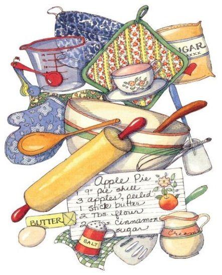 Susan Branch-----love her cheerful, homey art