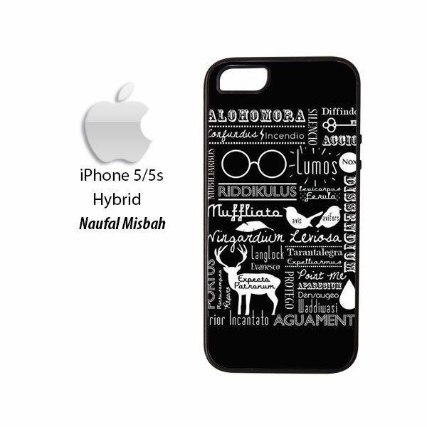 Harry Potter Black Magic Spells iPhone 5/5s HYBRID Case