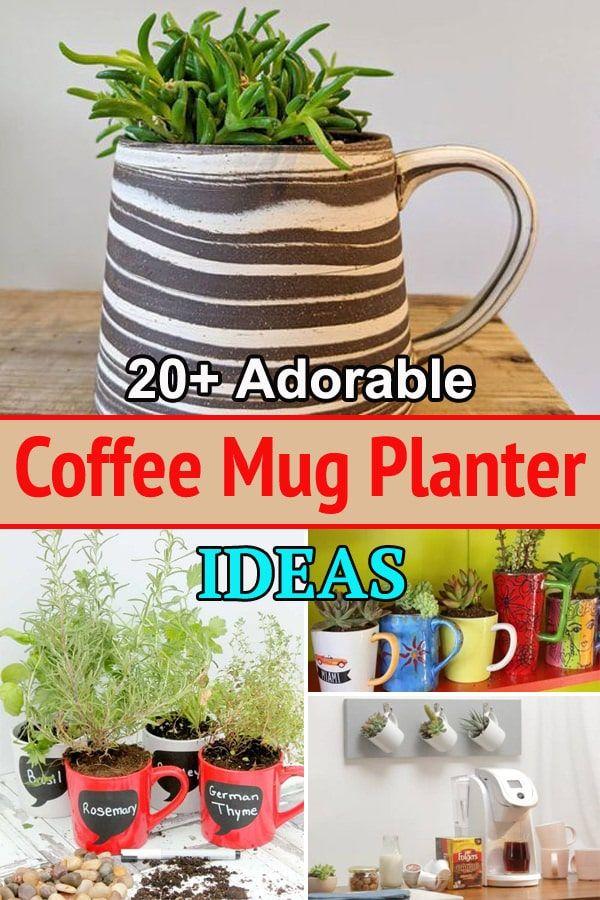 20++ Old coffee mug diy trends