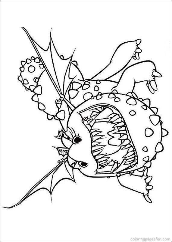 How To Train Your Dragon Coloring Pages 5