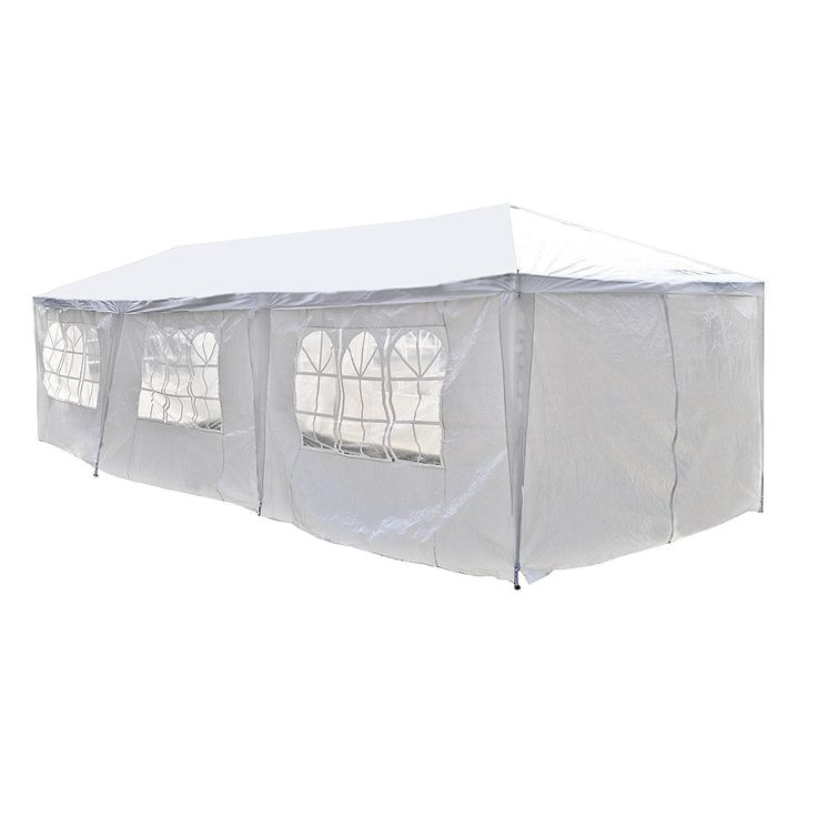 Aleko 30 x 10 feet Carport Storage Garage Party Tent with Windows (White)  sc 1 st  Pinterest & Best 25+ Carport tent ideas on Pinterest | Tarp shade Sweet 16 ...