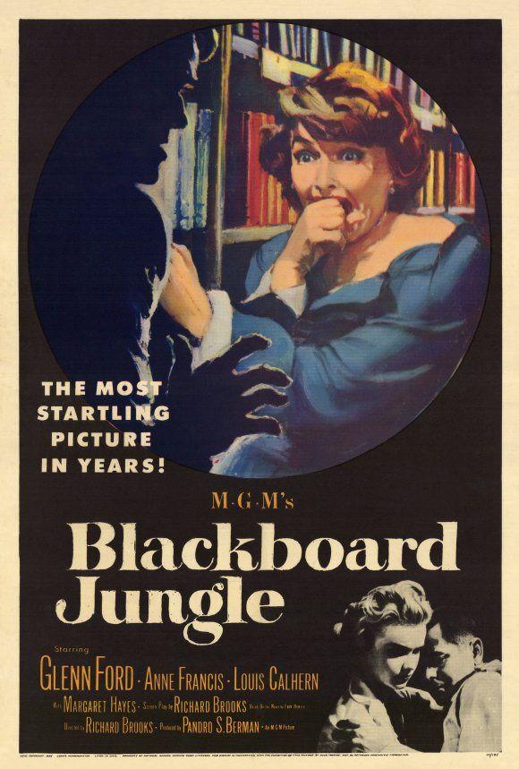 Школьные джунгли 1955  (Blackboard Jungle) фото
