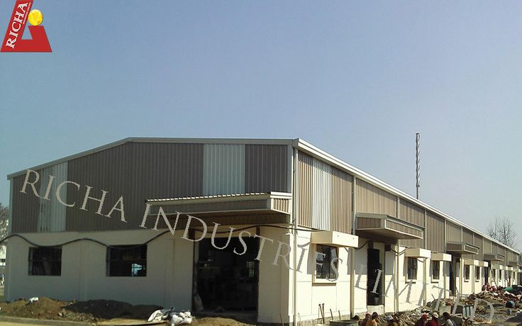 Richa Industries Limited is a leading Pre Engineered Buildings Manufacturing Company provides world class steel building solutions in India. Richa has successfully completed many iconic steel building projects in India. Richa Industries has vast experience to design, develop, manufacture, supply and erection of any type of pre engineered building including low-rise, mid-rise and high-rise steel buildings.