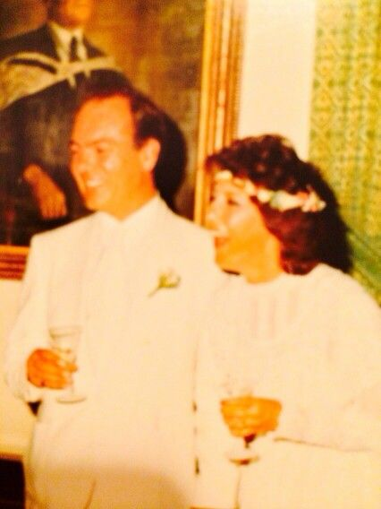 Our wedding day Jan 1986
