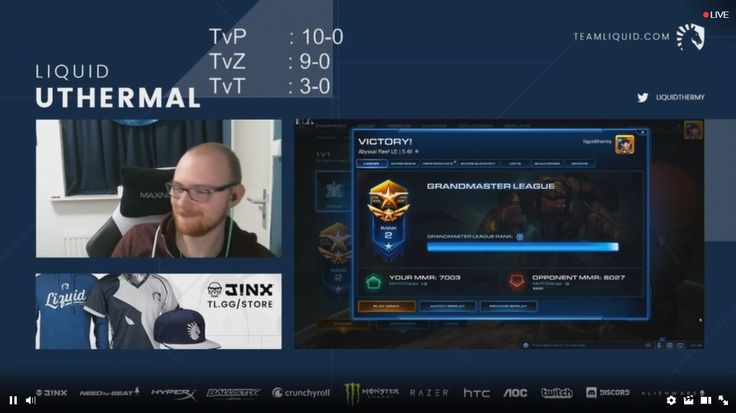 uThermal realizes Terran can't win on new patch and so decides to go on a 22 win streak