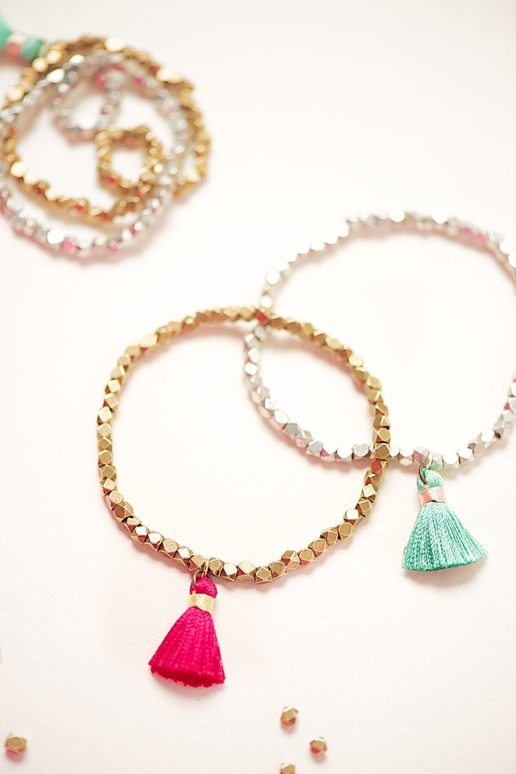 GIVE AWAY! click thru and win a bracelet with geometrical beads and tassel on www.lebenslustiger.com Give Away ends sunday night June16, 2013