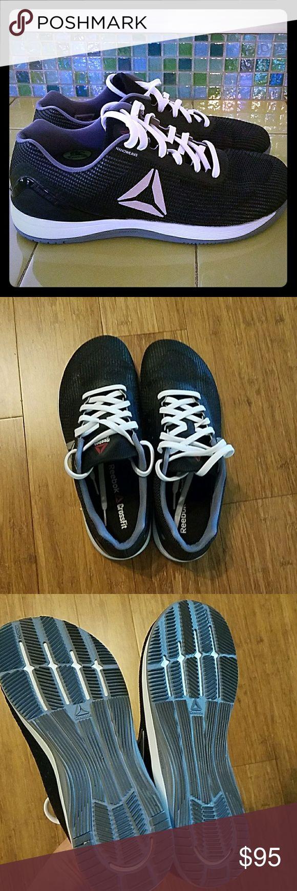 Selling this Crossfit Reebok custom made tennis shoes on Poshmark! My username is: kaelynb14. #shopmycloset #poshmark #fashion #shopping #style #forsale #Reebok #Other