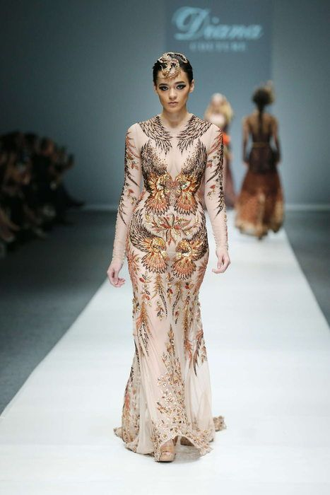 Diana Putri, Spring-Summer 2016, Jakarta, Womenswear