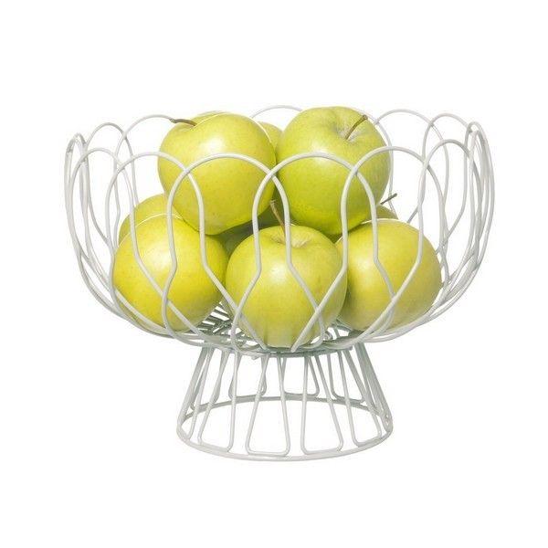 Δώσε στα αγαπημένα σου φρούτα το κατάλληλο περιβάλλον για να ωριμάσουν!    D. 26cm, H. 28cm    Κωδικός Προϊόντος:LBTPT2519WH
