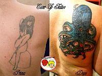 Copertura di un vecchio tatuaggio