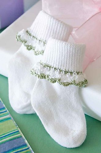 Ravelry: Sock Trim No. 2 pattern by Norma Gale