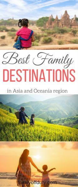 15+ Best holiday destinations in Asia for family. Check out the fave holidays destination in Asia and Oceania regions as picked from top family travel bloggers. Plan your next amazing family vacation in one of these amazing countries. All with child-friendly and family events for all to enjoy. Places include, Bali, Thailand, Japan, Philippines, Singapore, China and more. #familytravel #familyholidays #familyvacation