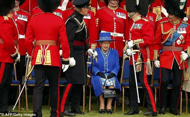 The Queen said she will send 8,000 centenarians messages of congratulations this year and that 'no 100th birthday greeting will give greater pleasure' than the one given to the Welsh Guards