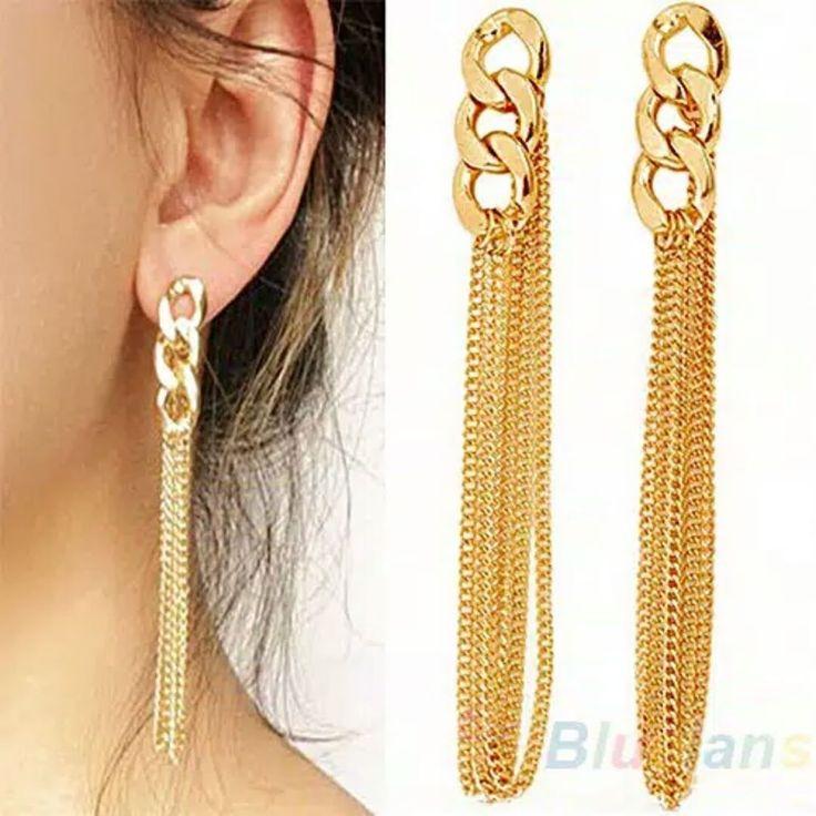 Anting Desain Rumbai Rantai IDR 24k  #anting#stud#hooks#aksesoris#antingmutiara#fashionwomen#earstuds#jelwery#vintage#korea#liontin#mutiara#choker#kalung#cincin#perhiasan#concealer#accessories#cosmetic#impor#cina#kukupalsu#nailart#perak http://ameritrustshield.com/ipost/1541052636680548688/?code=BVi6zVNhfFQ