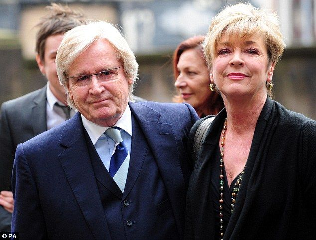 On-screen couple: Coronation Street actors William Roache, who played Ken Barlow, with Ann...