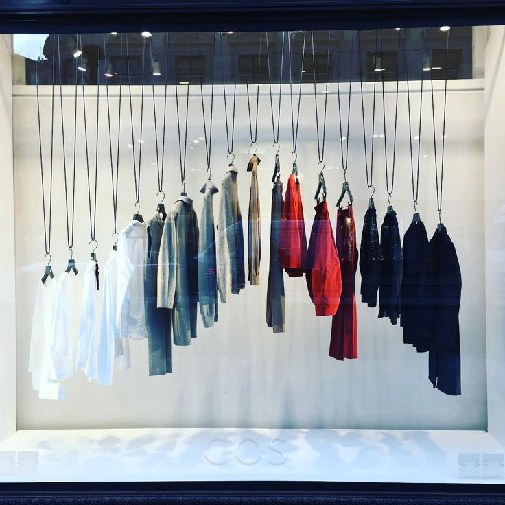 "COS, London, UK, ""Mondays"", (The only day you can wear the same exact outfit as yesterday without anyone knowing"", photo by Window Shoppings, pinned by Ton van der Veer"