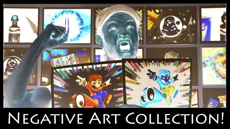 Inverted Drawing Collection  - Negative Art