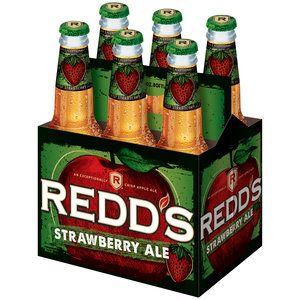Redd's Strawberry Ale, 12 fl oz, 6 pack