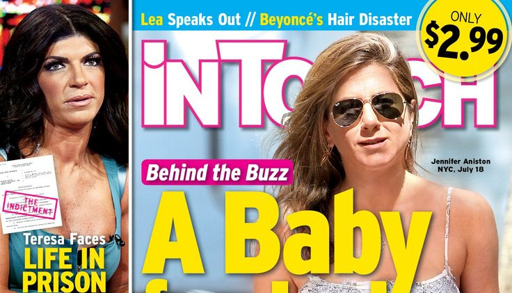 NEW 'IN TOUCH' COVER: Claims Jennifer Aniston Has A 'Growing (Baby) Bump'