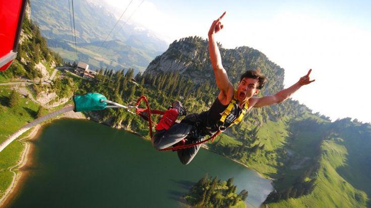 Bungee-Jumping Stockhorn - Der Adrenalinkick für Abenteuerlustige