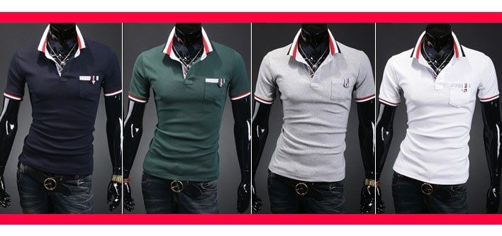 $19 for a Men's Short Sleeve Polo Shirt - Tax Included ($69 Value)