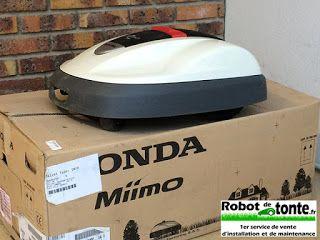 WebArchitecte.fr | Actualités clients.: Robot-de-tonte.fr propose : Tondeuse robot Honda M...