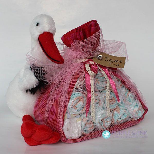 Den perfekte gave #babyshower #barselsgave #diapercake #blekage