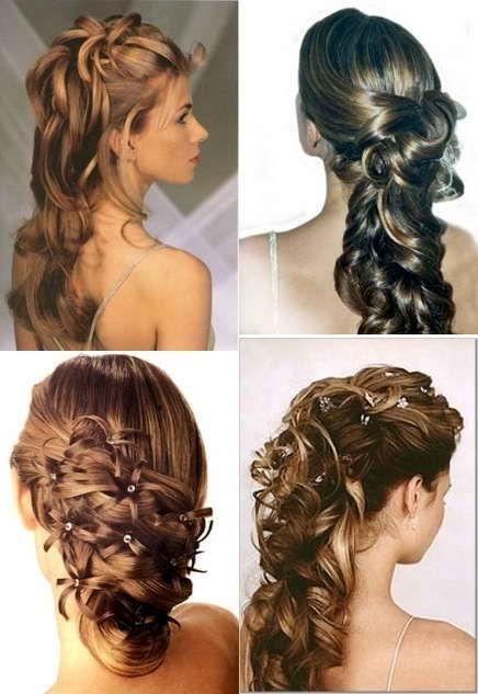 Много причесок из длинных волос