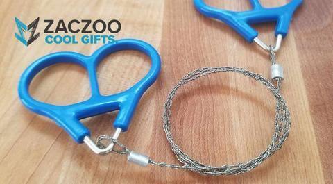 New!! ZZ Pocket Sized Stainless Steel Wire Chain Saw