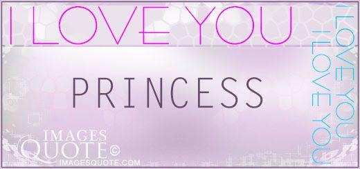 princess  >> Cute nicknames for your girlfriend or boyfriend