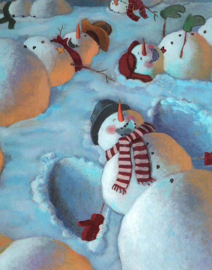 Snowmen at Night (The Secret Lives of Snowmen!)