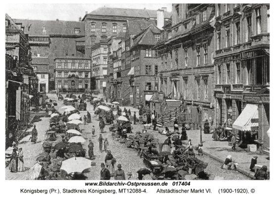 Königsberg, Altstädtischer Markt VI