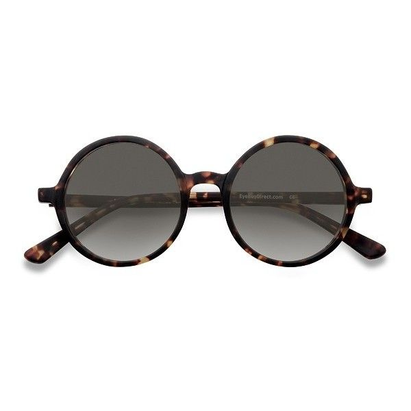 Women's Alena - Brown/Tortoise round - 12349 Rx Sunglasses (£12) ❤ liked on Polyvore featuring accessories, eyewear, sunglasses, tortoise glasses, brown glasses, rounded sunglasses, brown round sunglasses and round tortoiseshell glasses