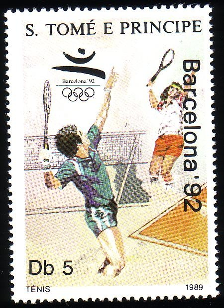 Stamp from São Tomé and Príncipe | Barcelona 1992, Olympic Games