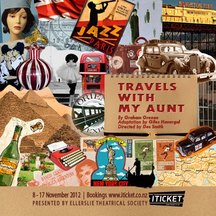 Travels With My Aunt at Auckland's Stables Theatre in Ellerslie