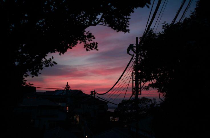 눈물나게 예뻣던 노을. Sunset. with him.
