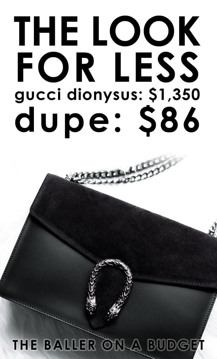 Designer Dupe Gucci Dionysus Bag 1350