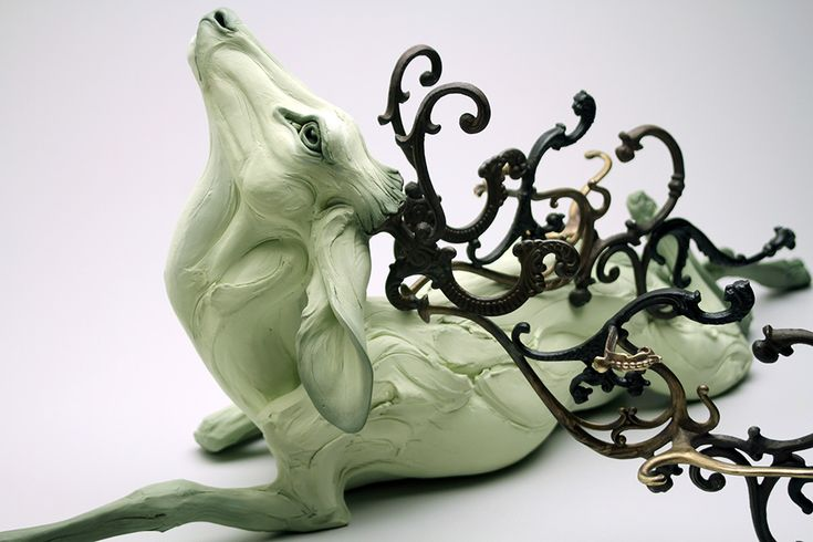 Extremes of Human Nature Explored through Hand-Built Stoneware Animals by Beth Cavener Stichter  http://www.thisiscolossal.com/2015/02/stoneware-animal-sculptures-stichter/