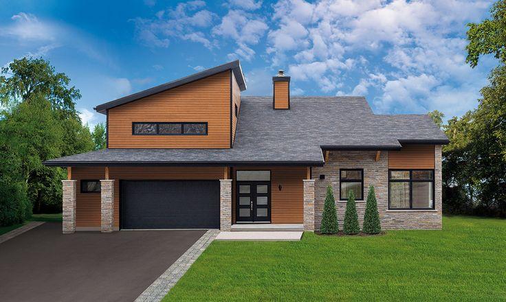 Maibec | Residential -  Quebec area | Urban Modern house made of Eastern White Cedar Sidings