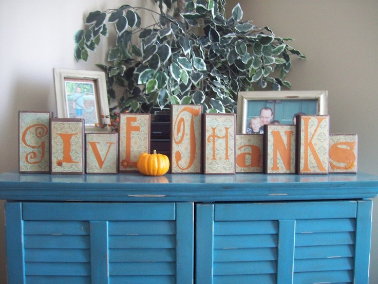 Double Sided Blocks - Thanksgiving greeting on one side and Halloween on the otherHoliday Ideas, Crafts Ideas, Holiday Happen, Fall Halloween Thanksgiving, Fall Finding, Double Side, Holiday Stuff, Happy Holiday, Fall Creations