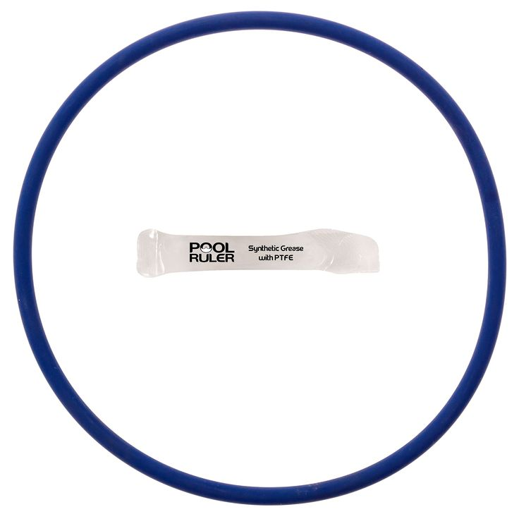 Pool Ruler CLX200K O-Ring (Chlorine Resistant VITON) + LUBRICANT for Hayward CL200 & CL220 Pool Chlorinator Chemical Feeder Lid