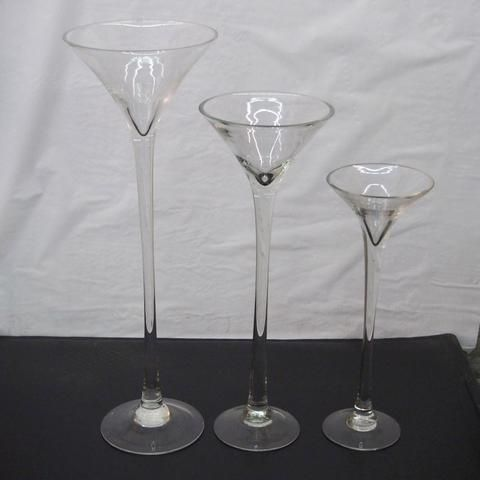 Jumbo Martini Glass Vase Wedding Centerpiece – www.PartyMill.com