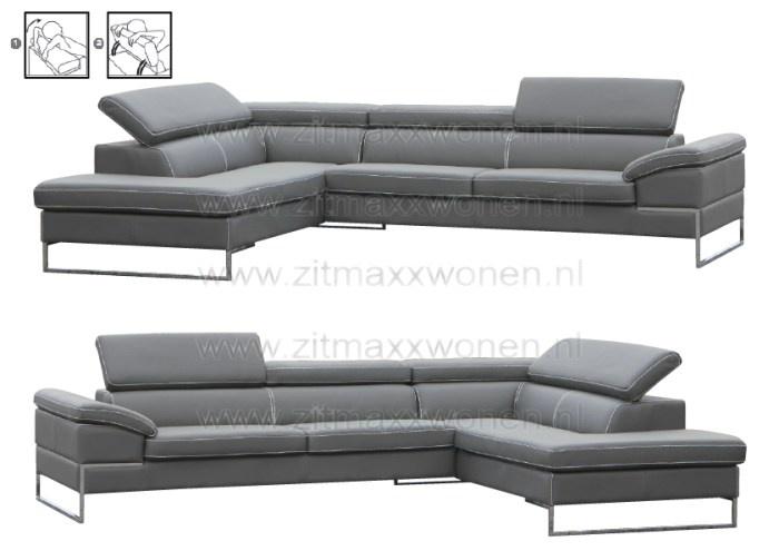 Zitmaxx Wonen -  Bank 3-longchair Etoile