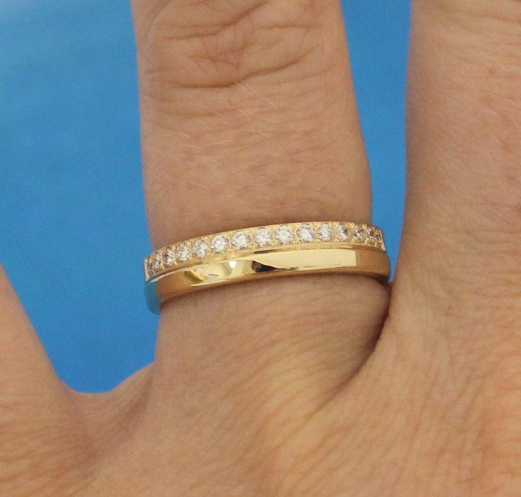 Eheringe gold mit 5 diamanten  24 besten Diamantringe Bilder auf Pinterest | Eheringe, Trauring ...