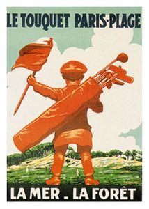 Le Touquet Golf Vintage Poster - 1910