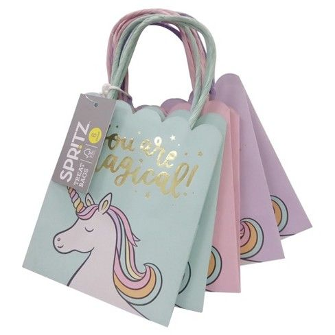 6ct Unicorn You Are Magical Gift Bags