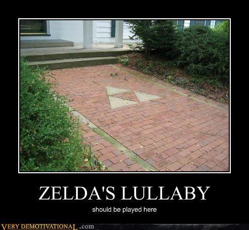 ha ha Legend of Zelda...