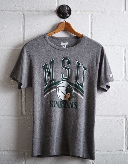 Tailgate Men's MSU Spartans Basketball T-Shirt