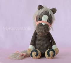 Cutest crochet horse! Pattern